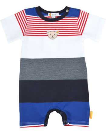 Steiff Romper short sleeve FISH AND SHIP Baby Boys steiff navy 2112328-3032
