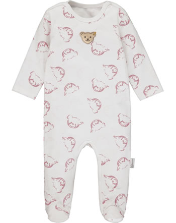 Steiff Romper BABY UNISEX ORGANIC cloud dancer 2012321-1001