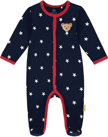 Steiff Romper BEAR TO SCHOOL steiff navy 2021322-3032