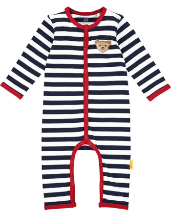 Steiff Romper BEAR TO SCHOOL steiff navy 2021323-3032