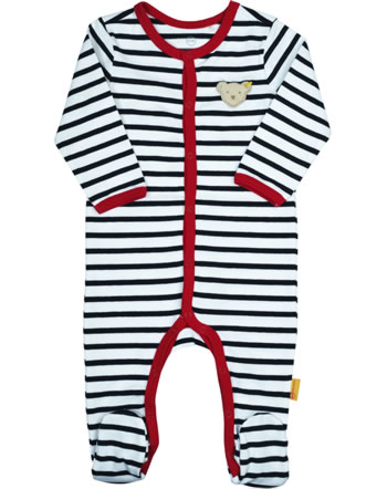 Steiff Romper BEAR TO SCHOOL steiff navy 2021431-3032
