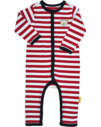 Steiff Romper BEAR TO SCHOOL tango red 2021323-4008