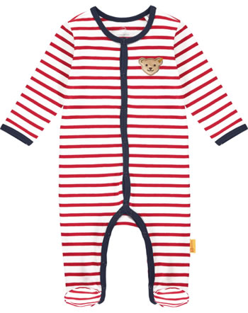 Steiff Romper BEAR TO SCHOOL tango red 2021431-4008