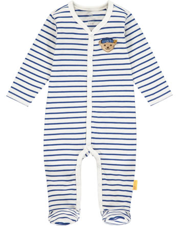 Steiff Romper FISH AND SHIP Baby Boys bright white 2112326-1000