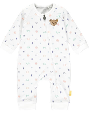 Steiff Romper HIGH FIVE Baby Boys bright white 2111320-1000