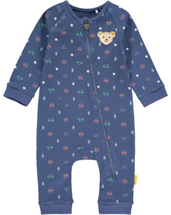 Steiff Romper HIGH FIVE Baby Boys deep cobalt 2111320-6062