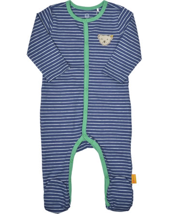Steiff Romper HIGH FIVE Baby Boys deep cobalt 2111323-6062
