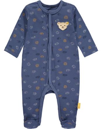 Steiff Strampler Langarm LETS PLAY Baby Boys bijou blue 2121322-6066