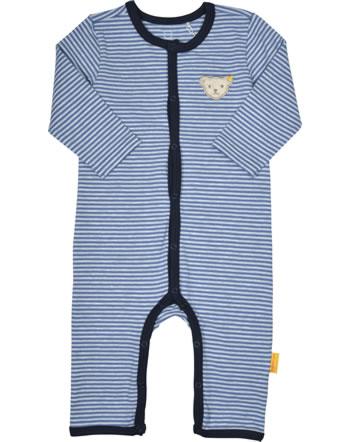 Steiff Strampler Langarm LETS PLAY Baby Boys bijou blue 2121323-6066