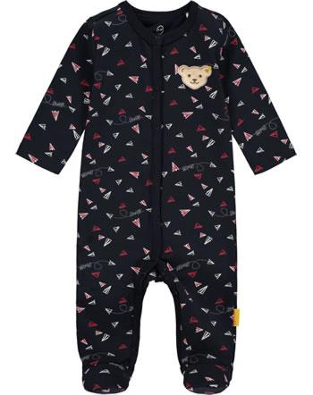 Steiff Strampler Langarm PAPER PLANE Baby Boys steiff navy 2122336-3032