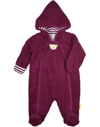 Steiff Overall ROSE DENIM beet red 1922209-4010