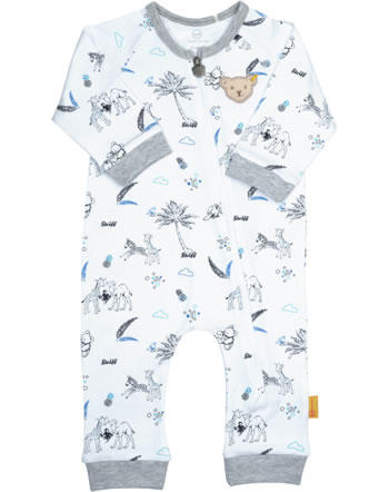 Steiff Romper SAFARI BEAR bright white 2013130-1000