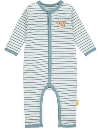 Steiff Strampler Langarm SWEET HEART Baby Girls adriatic blue 2121423-6045