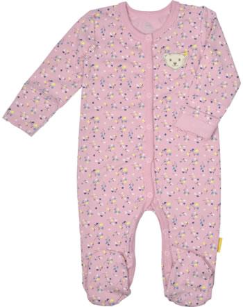 Steiff Strampler Langarm SWEET HEART Baby Girls pink nectar 2121431-3035
