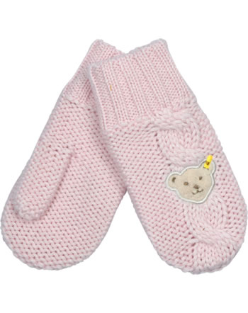 Steiff Knitted Gloves BLUEBERRY HILL barely pink 1622626-2560