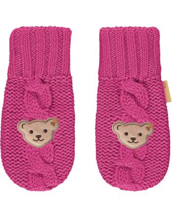 Steiff Knitted Gloves PONYFUL carmine 2022225-7046