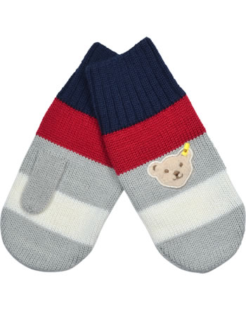 Steiff Knitted Gloves RED AND BLUE WINTER patriot blue 1921136-6033
