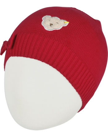 Steiff Knitted Hat AHOI MINI! tango red 2012515-4008