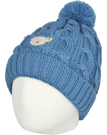 Steiff Bonnet BLUE STRIPE swedish blue 1922525-6034