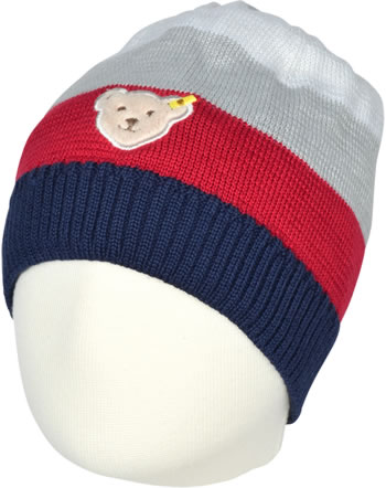 Steiff Hat RED AND BLUE WINTER patriot blue 1921116-6033