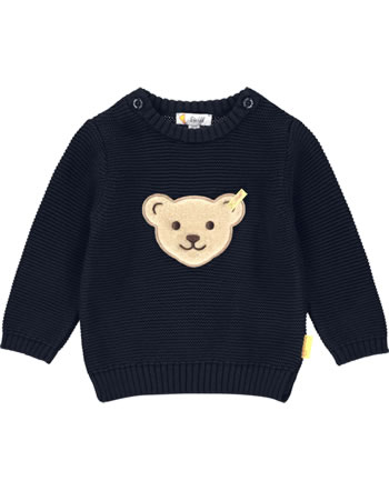 Steiff Strick-Pullover BEAR BLUES black iris 2011216-3032