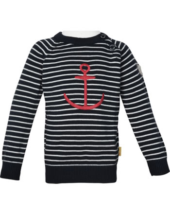 Steiff Strick-Pullover FISH AND SHIP Mini Boys steiff navy 2112122-3032