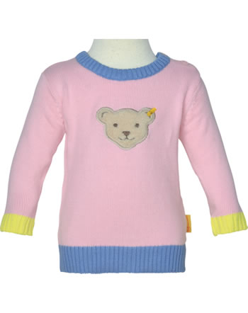Steiff Strick-Pullover HELLO SUMMER Baby Girls pink lady 2113442-3033