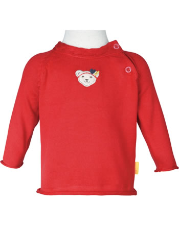 Steiff Strick-Pullover MARINE AIR Baby Girls true red 2112425-4015