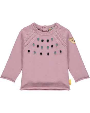 Steiff Strick-Pullover SWEET HEART Baby Girls pink nectar 2121413-3035
