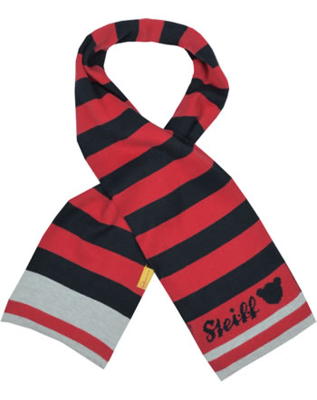 Steiff Scarf BEAR TO SCHOOL tango red 2021115-4008