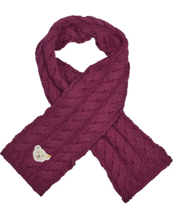 Steiff Scarf BLUEBERRY HILL beet red 1922624-4010