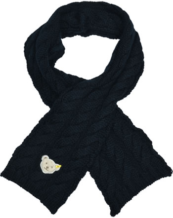 Steiff Scarf BLUEBERRY HILL black iris 1922624-3032