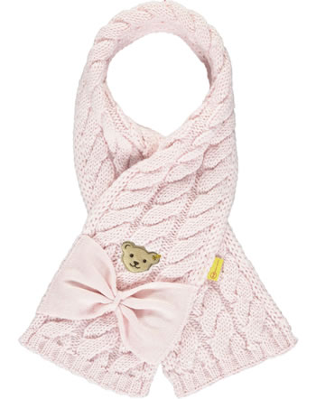 Steiff Strick-Schal FAIRYTALE Mini Girls barely pink 2023213-2560