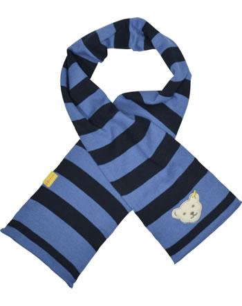 Steiff Strick-Schal LETS PLAY Mini Boys bijou blue 2121115-6066