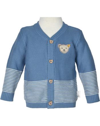 Steiff Cardigan BABY GOTS UNISEX coronet blue 2112521-6048