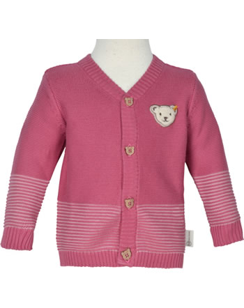Steiff Strickjacke BABY GOTS UNISEX holly berry 2112521-4016
