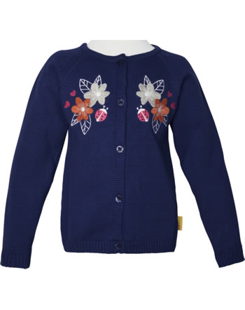 Steiff Strickjacke BUGS LIFE Mini Girls deep cobalt 2111205-6062