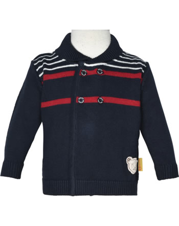 Steiff Strickjacke FISH AND SHIP Baby Boys steiff navy 2112329-3032