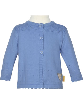 Steiff Strickjacke HELLO SUMMER Baby Girls brunnera blue 2113429-6043