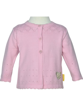 Steiff Strickjacke HELLO SUMMER Baby Girls pink lady 2113429-3033