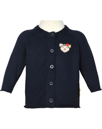 Steiff Strickjacke MARINE AIR Baby Girls steiff navy 2112433-3032