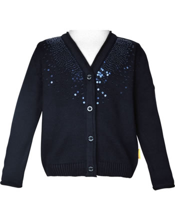 Steiff Strickjacke MARINE AIR Mini Girls steiff navy 2112221-3032