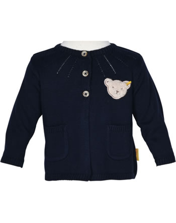 Steiff Strickjacke ROSE DENIM black iris 1922211-3032