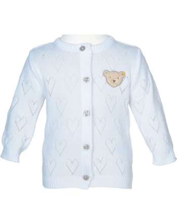 Steiff Cardigan SPECIAL DAY bright white 001914402-1000