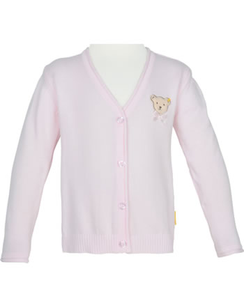 Steiff Strickjacke SWEET CHERRY barely pink 2013422-2560