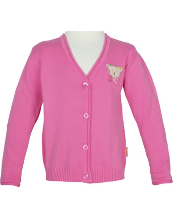 Steiff Strickjacke SWEET CHERRY pink carnation 2013422-3019