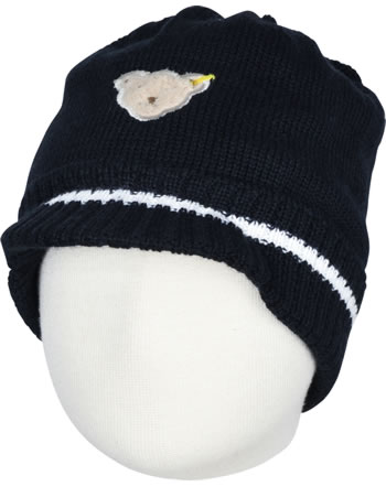 Steiff Knitted Hat BEAR CREW steiff navy 2012116-3032
