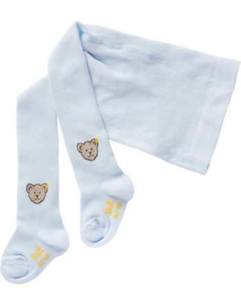 Steiff Pair of tights with Teddy-head BASIC baby blue 000020602-3023