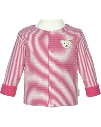 Steiff Wende-Sweat-Jacke BABY GOTS UNISEX holly berry 2112522-4016