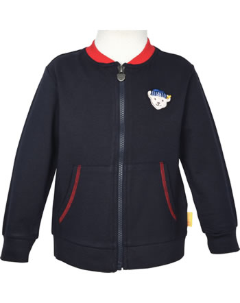 Steiff Sweat-Jacke FISH AND SHIP Mini Boys steiff navy 2112120-3032